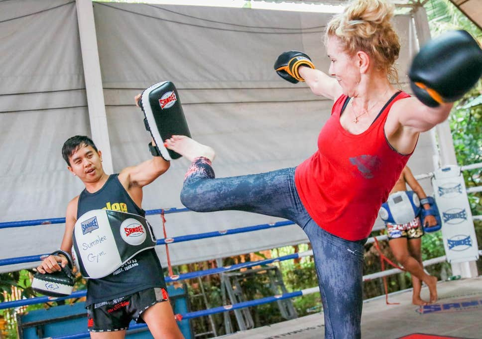 Workout Businesses with Boxing in Phuket island